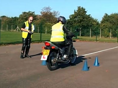 Motorcycle test